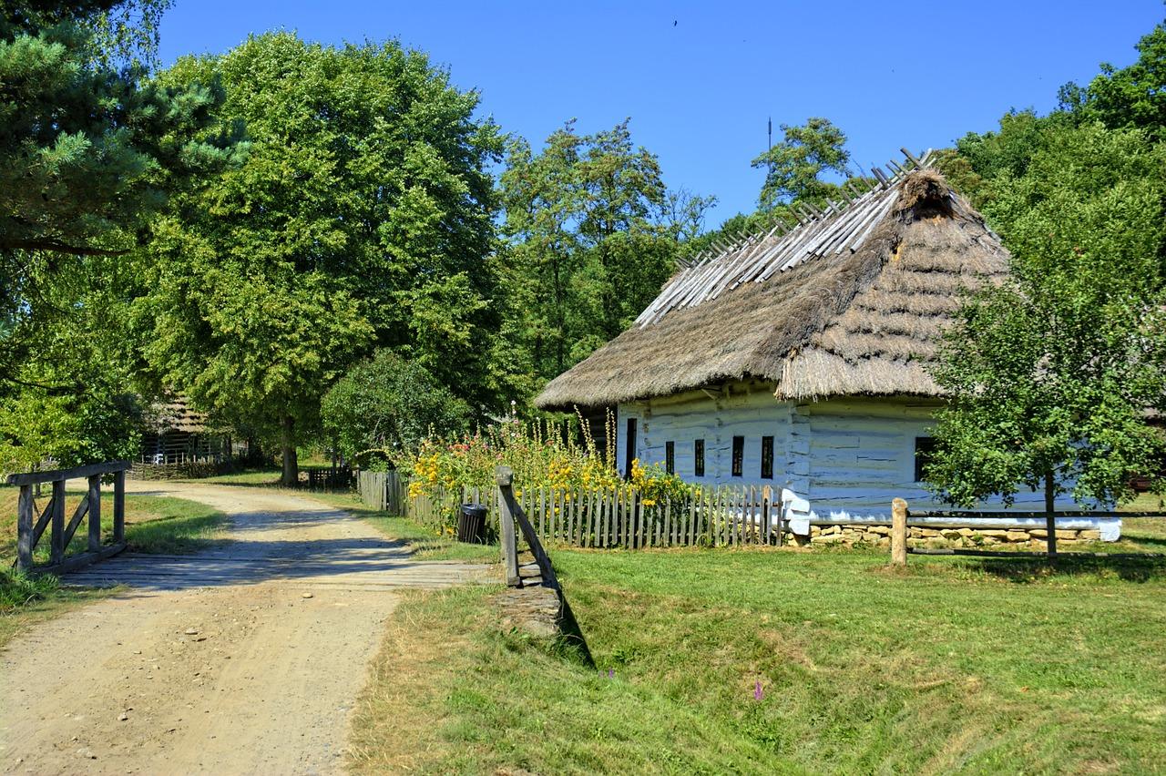 Wieś, Polska
